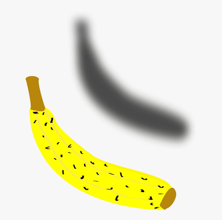 Transparent Platano Png - Saba Banana, Transparent Clipart
