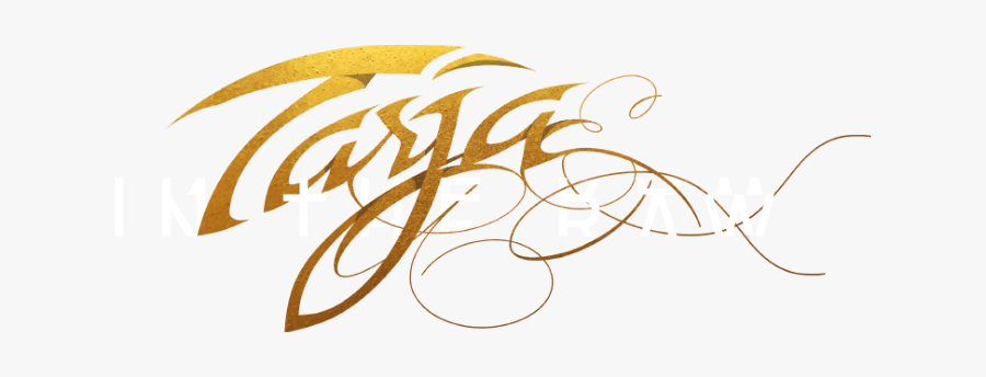 Tarja In The Raw Logo, Transparent Clipart