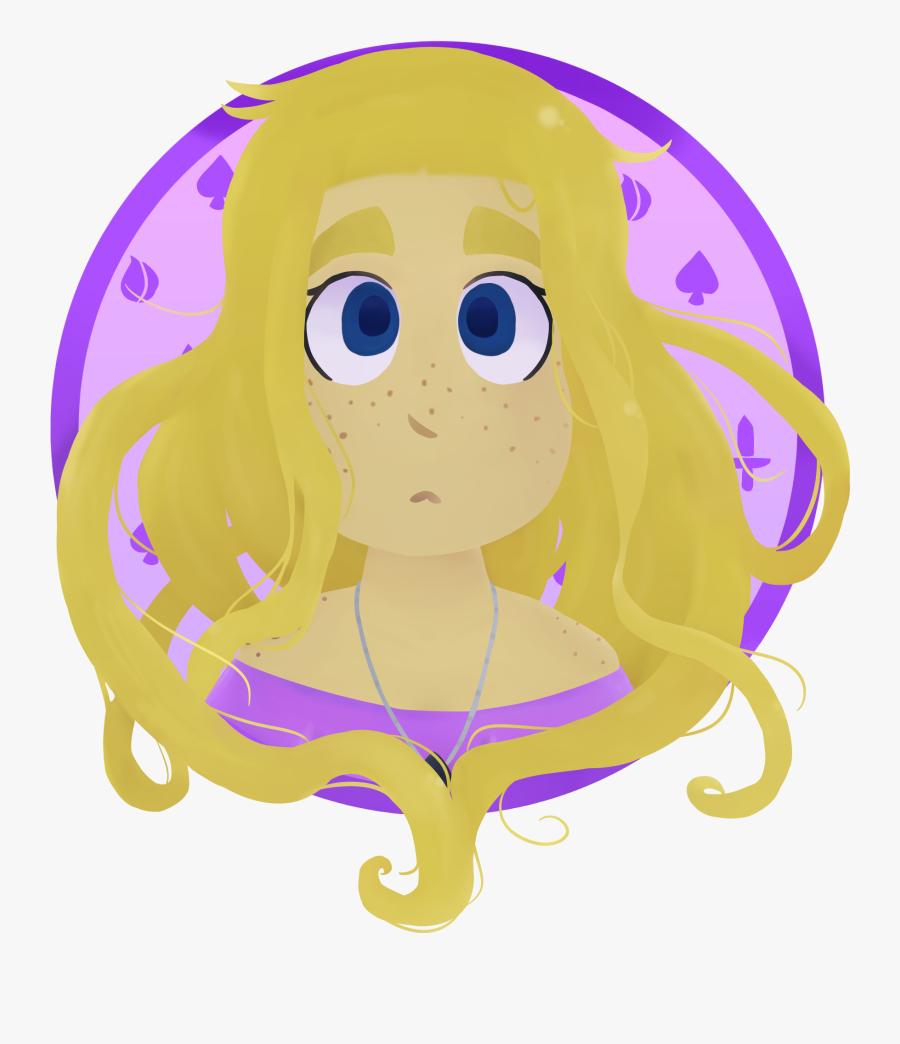 Transparent Rapunzel Clipart - Illustration, Transparent Clipart