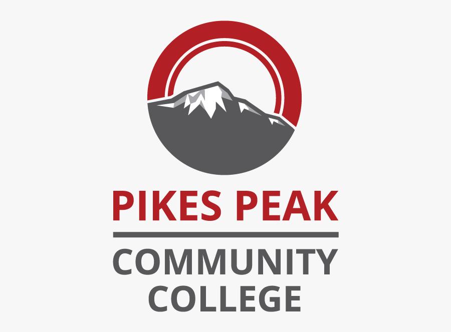 Pikes Peak Community College Logo, Transparent Clipart
