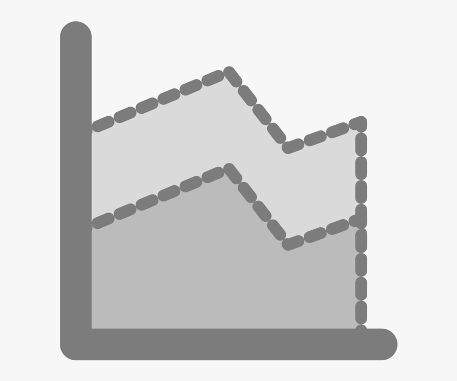 Square,angle,line - Area Chart Icon .png, Transparent Clipart