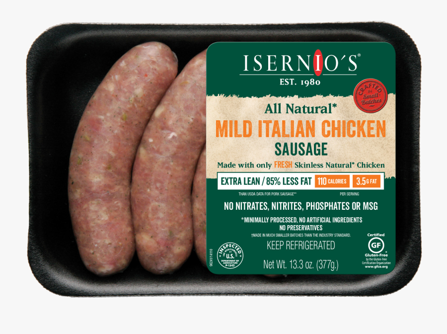 Italian Chicken Sausage Mix, Transparent Clipart