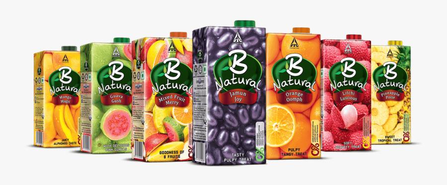 Transparent Fruit Juice Png - Itc B Natural Juice, Transparent Clipart