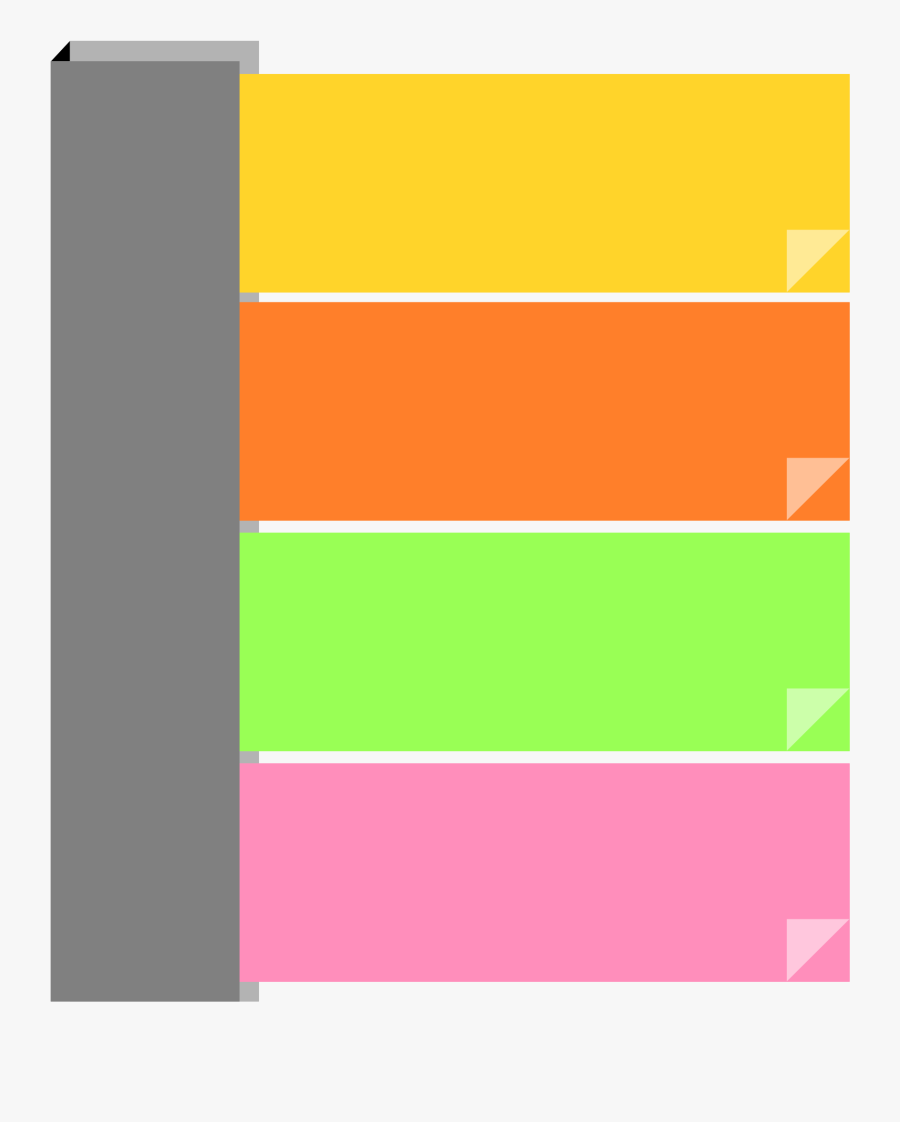 Paper Clipart Sticky Note - Png Clipart Post It Sticky Note Png, Transparent Clipart