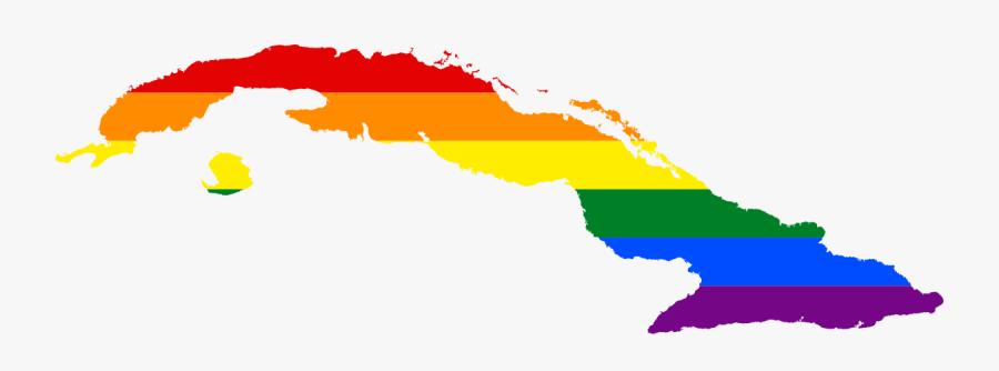 Cuba Map Flag Clipart , Png Download - Cuba Map Vector Png, Transparent Clipart
