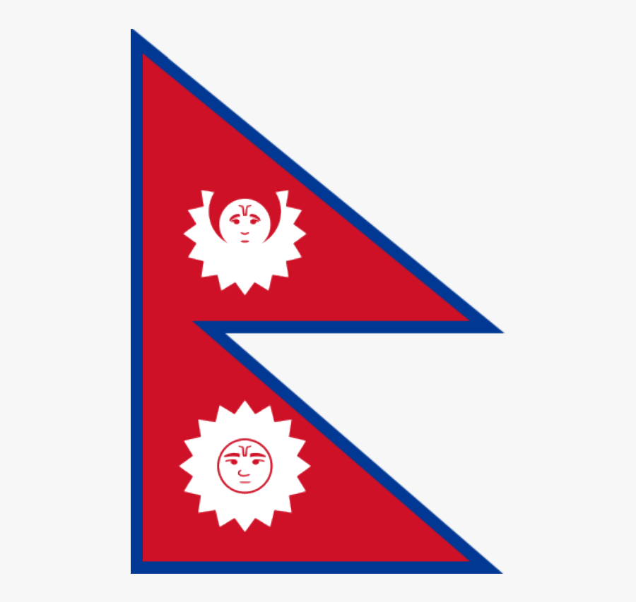 Transparent Pay Bills Clipart - Old Flag Of Nepal, Transparent Clipart