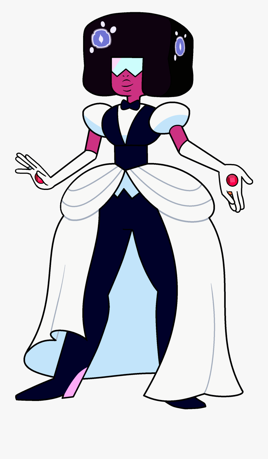Image Garnet Wedding Outfit - Garnet Steven Universe Wedding, Transparent Clipart