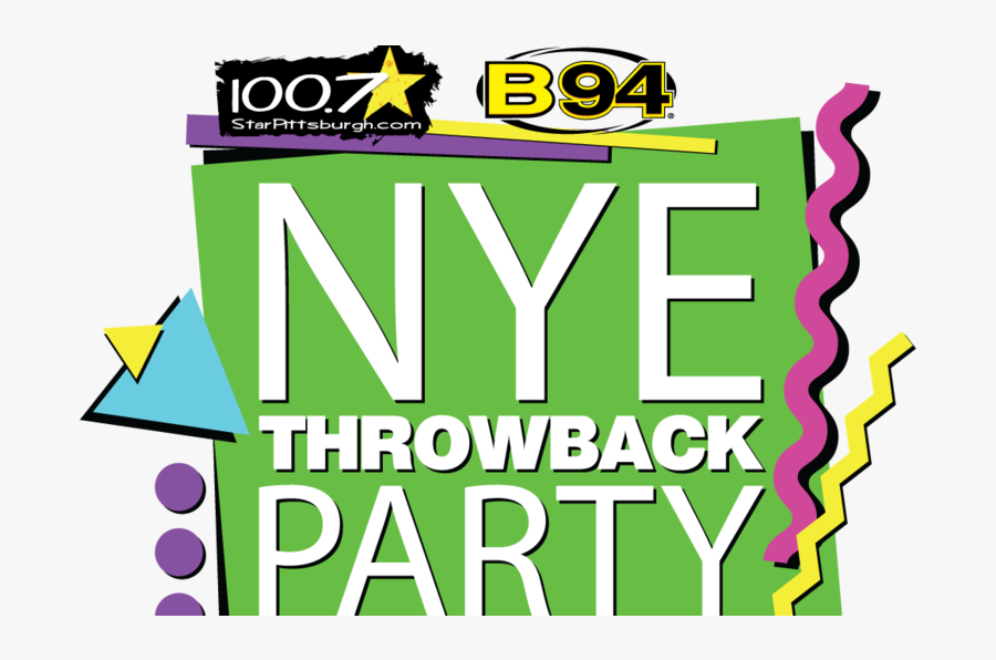 Star/b-94 Throw Back Party, Transparent Clipart