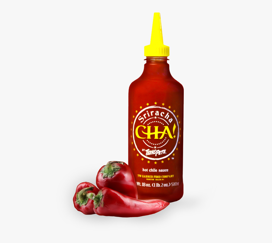 Cha By Texas Pete - Texas Pete Sriracha Hot Chili Sauce, Transparent Clipart