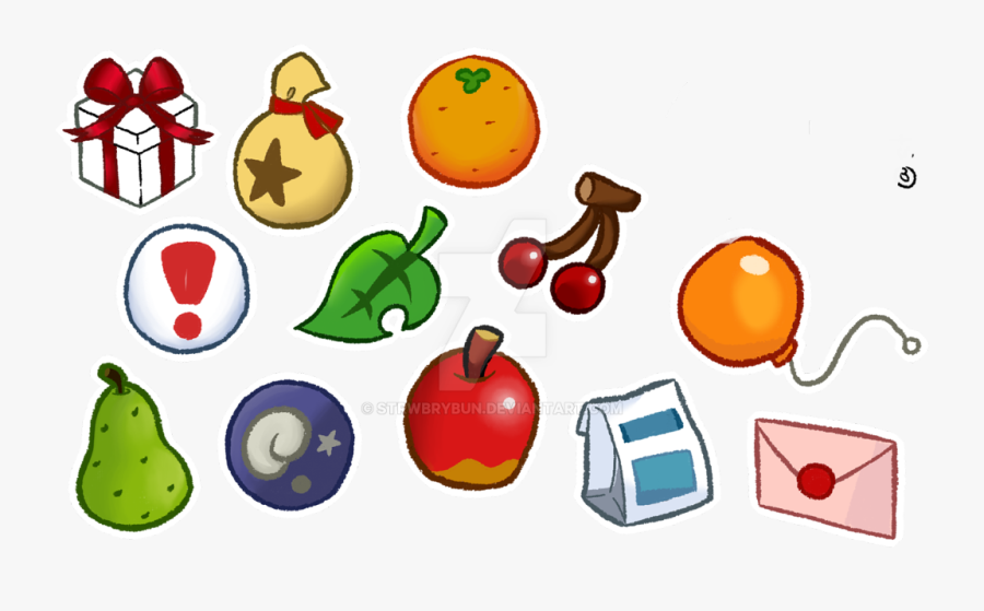 Animal Crossing Icons Fruit Free Transparent Clipart Clipartkey