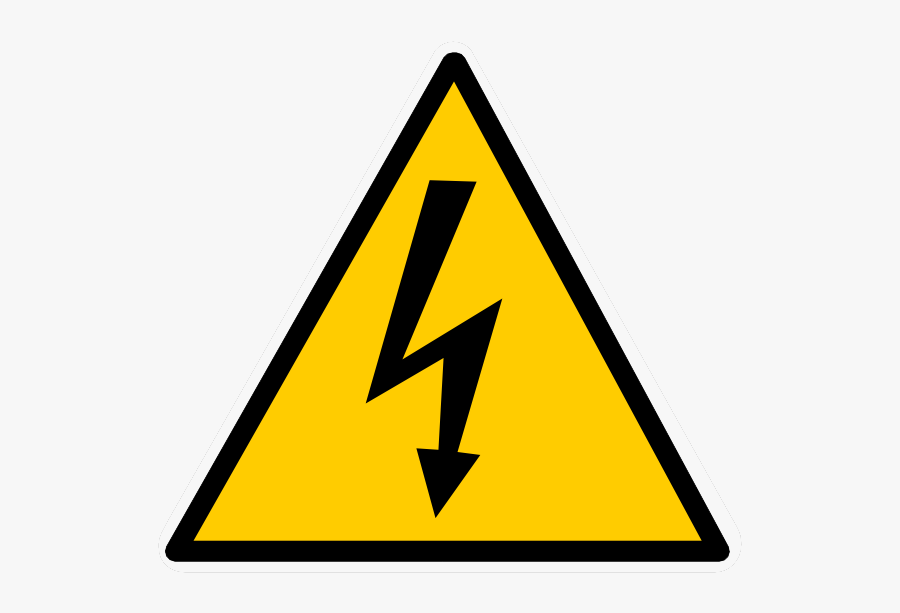 Electricity High Injury Electrical Voltage Download - Electrical Hazard Symbol Png, Transparent Clipart