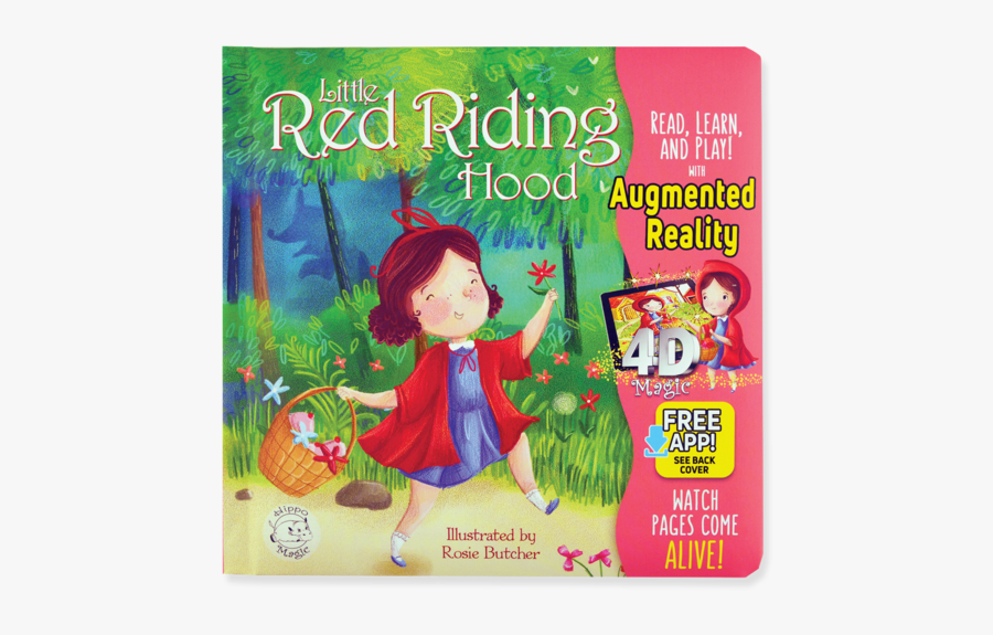Little Red Riding Hood Augmented Reality, Transparent Clipart