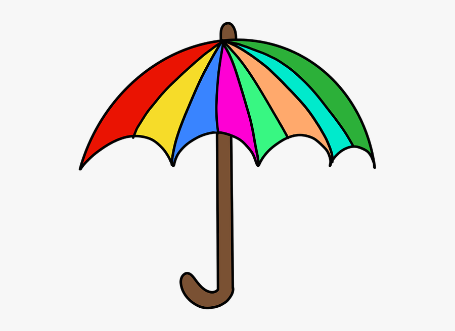 Umbrella, Rain, Weather, People, Wet, Shower - Limpieza Del Monitor Del Pc, Transparent Clipart
