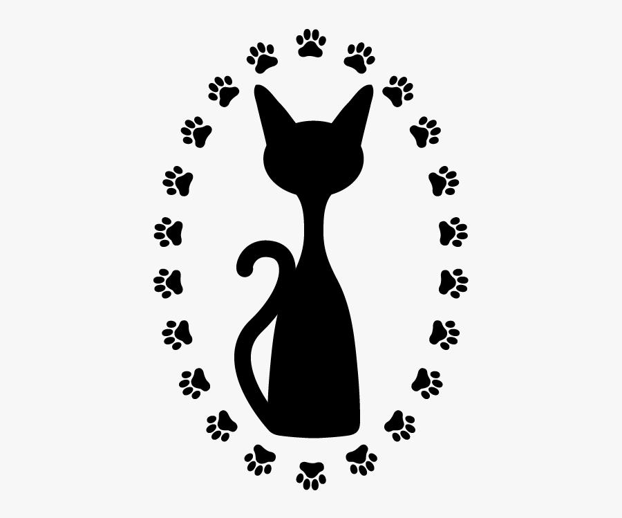 Bulldog Greyhound Cat Puppy Kitten - Clip Art Cat Paw, Transparent Clipart