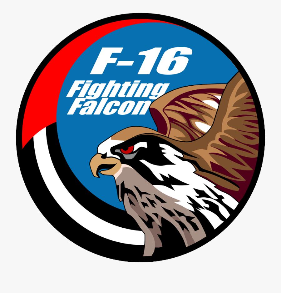 F 16 Patch, Transparent Clipart