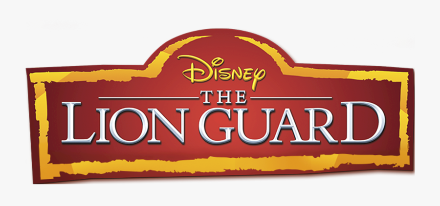 Lion King Banner Logo, Transparent Clipart
