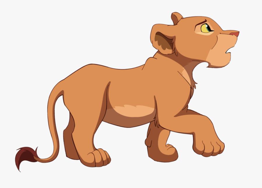 King Clipart Sad - Lion King Nala Png, Transparent Clipart