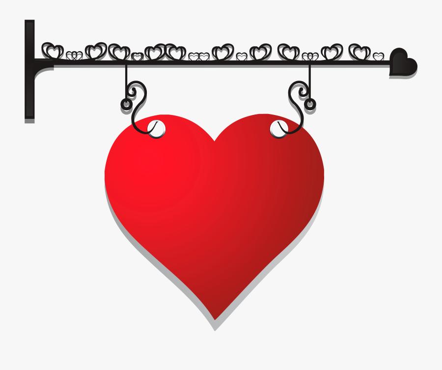 Transparent Hanging Hearts Png - Transparent Png Hanger Clipart, Transparent Clipart