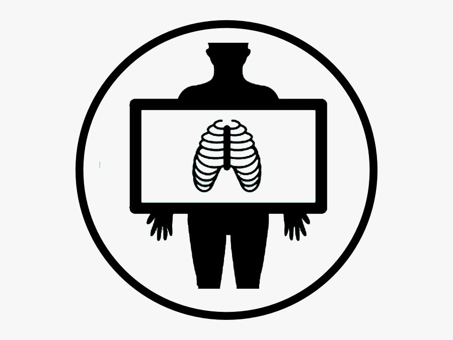 X Ray Lung Icon Clipart , Png Download - X Ray Lungs Clipart, Transparent Clipart