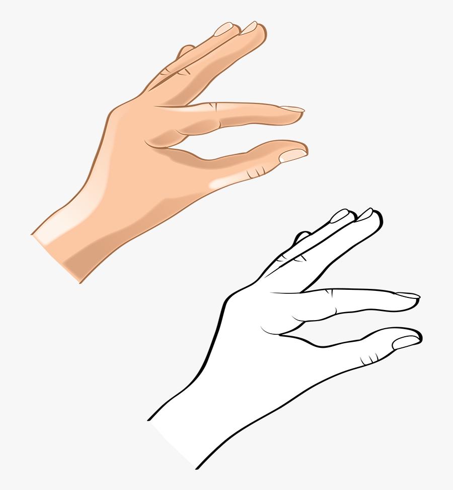 Transparent Hand Vector Png - Art, Transparent Clipart