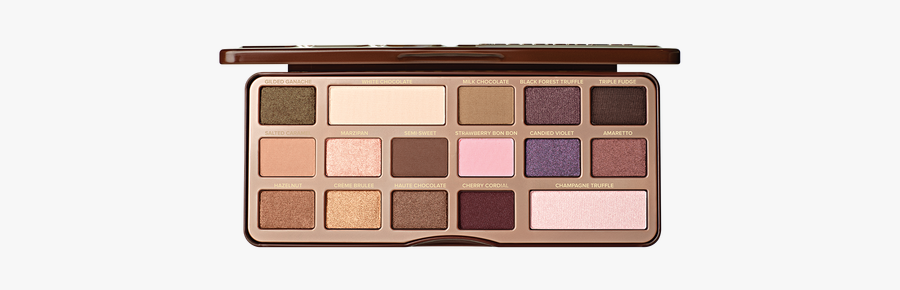 Too Faced Eyeshadow Palette, Transparent Clipart