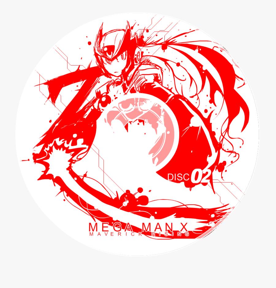 Megaman X Zero Logo, Transparent Clipart