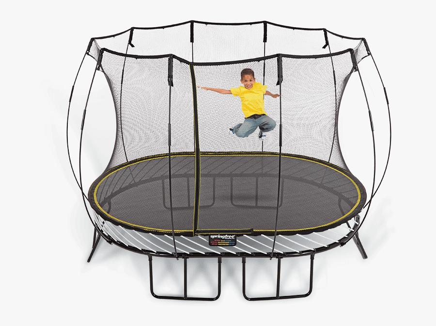 Medium Oval - Springfree Oval Trampoline, Transparent Clipart