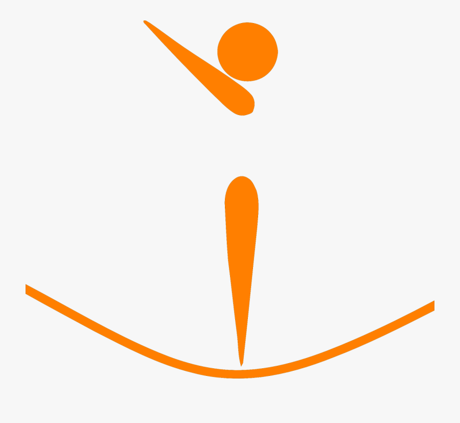 Trampoline Athlete Silhouette Free Photo - Olympic Trampoline, Transparent Clipart