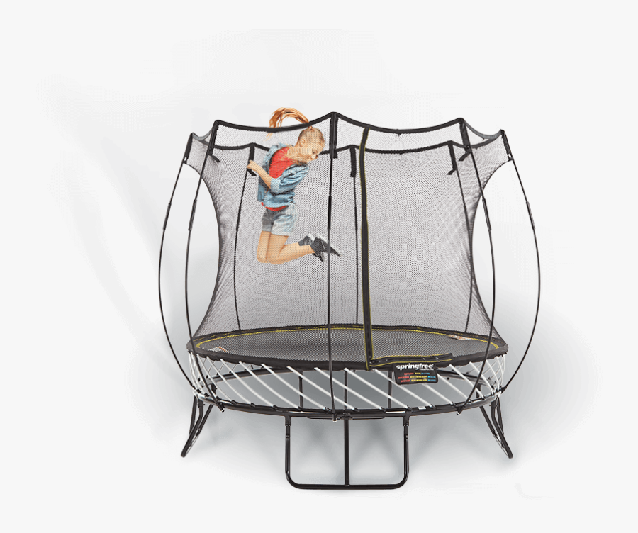Compact Round - Springfree Trampoline, Transparent Clipart