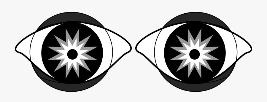 Symmetry,monochrome Photography,symbol - Clip Art, Transparent Clipart