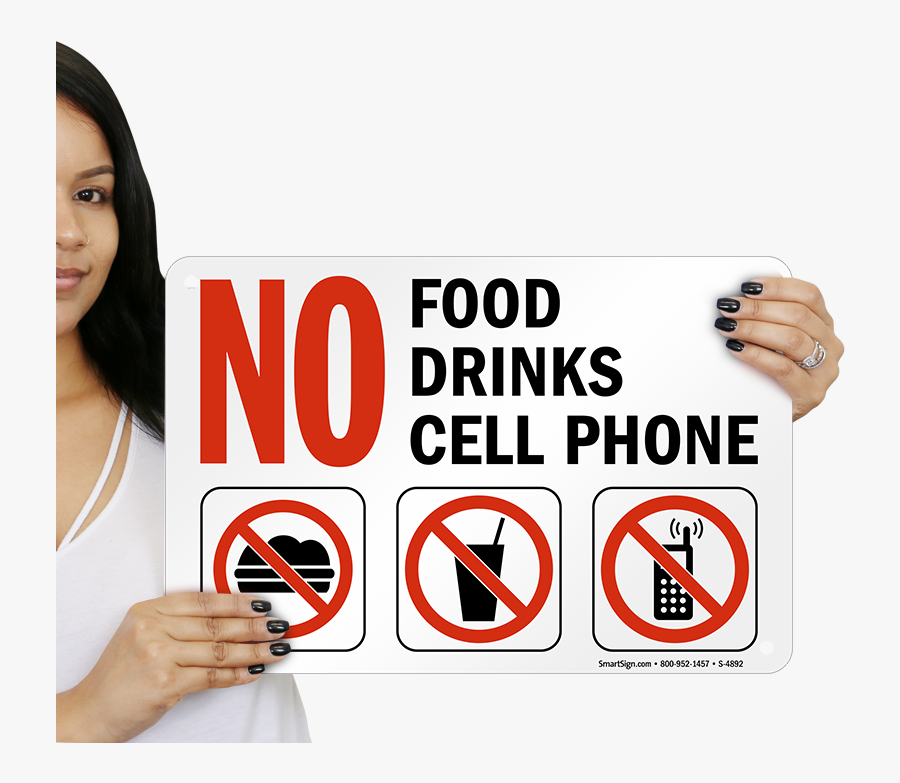 No Food Png - No Phone No Food, Transparent Clipart