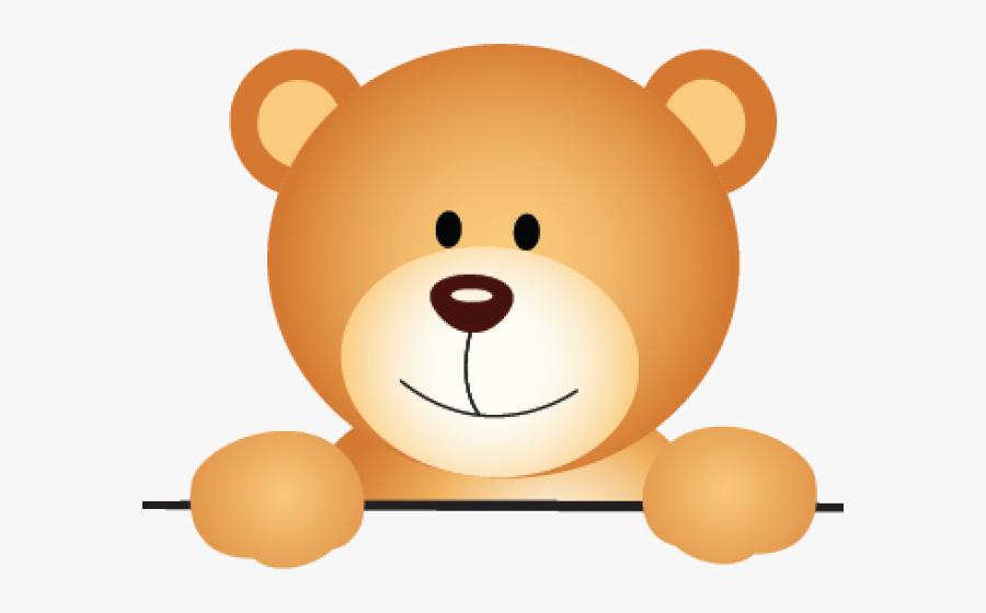 Ground Clipart Rabbit Hole - Teddy Bear Peeking Clipart, Transparent Clipart