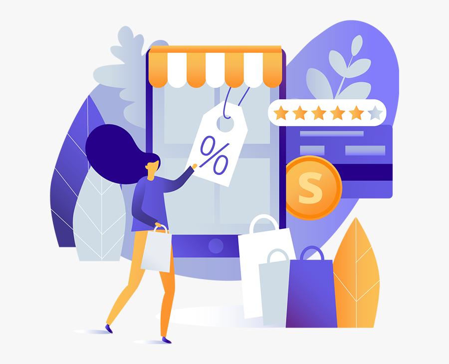 Transparent La Tienda Clipart - E-commerce, Transparent Clipart