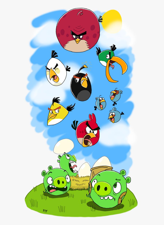 Angry Birds Patrick Deviantart, Transparent Clipart
