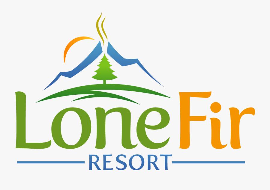 Lone Fir Resort - Graphic Design, Transparent Clipart