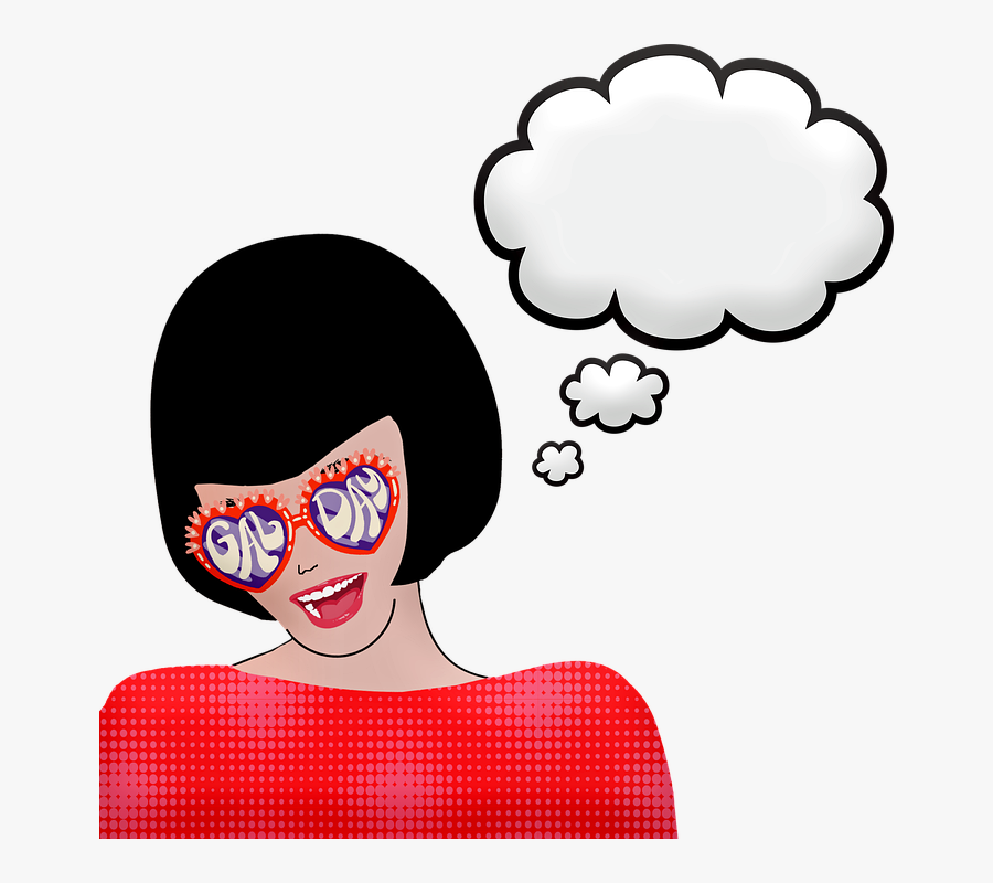 Pop Art Girl, Girl Power, Halftone, Pop Art Comic - Quote About Privacy Life, Transparent Clipart