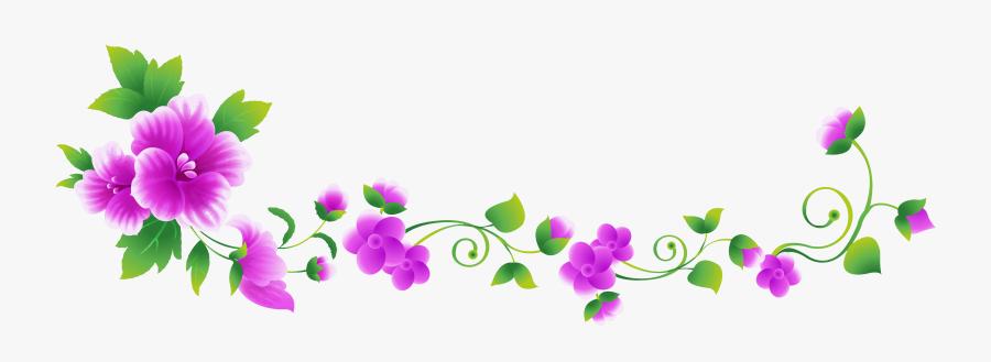 Flower Clip Art - Clip Art Flower Line, Transparent Clipart