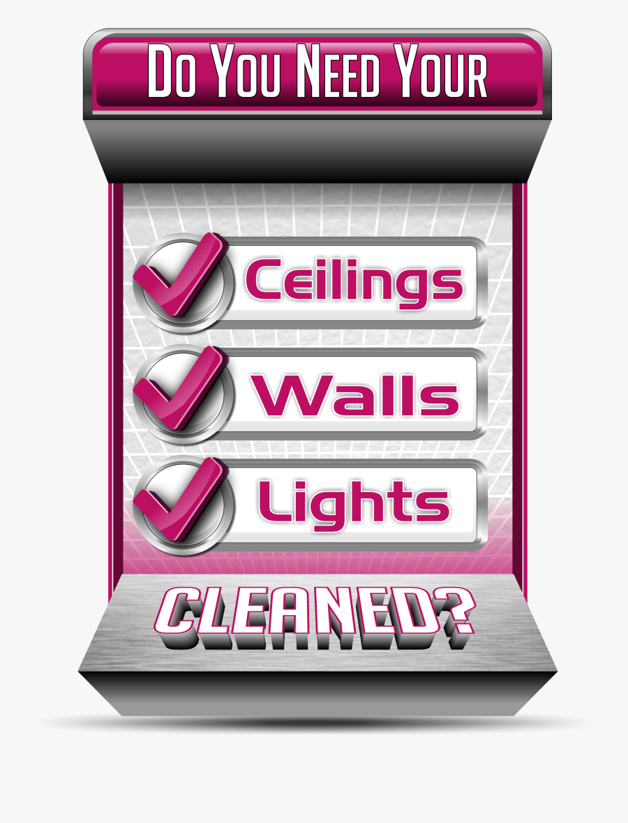High Dusting Ceiling Cleaning Services Company For - Graphic Design, Transparent Clipart