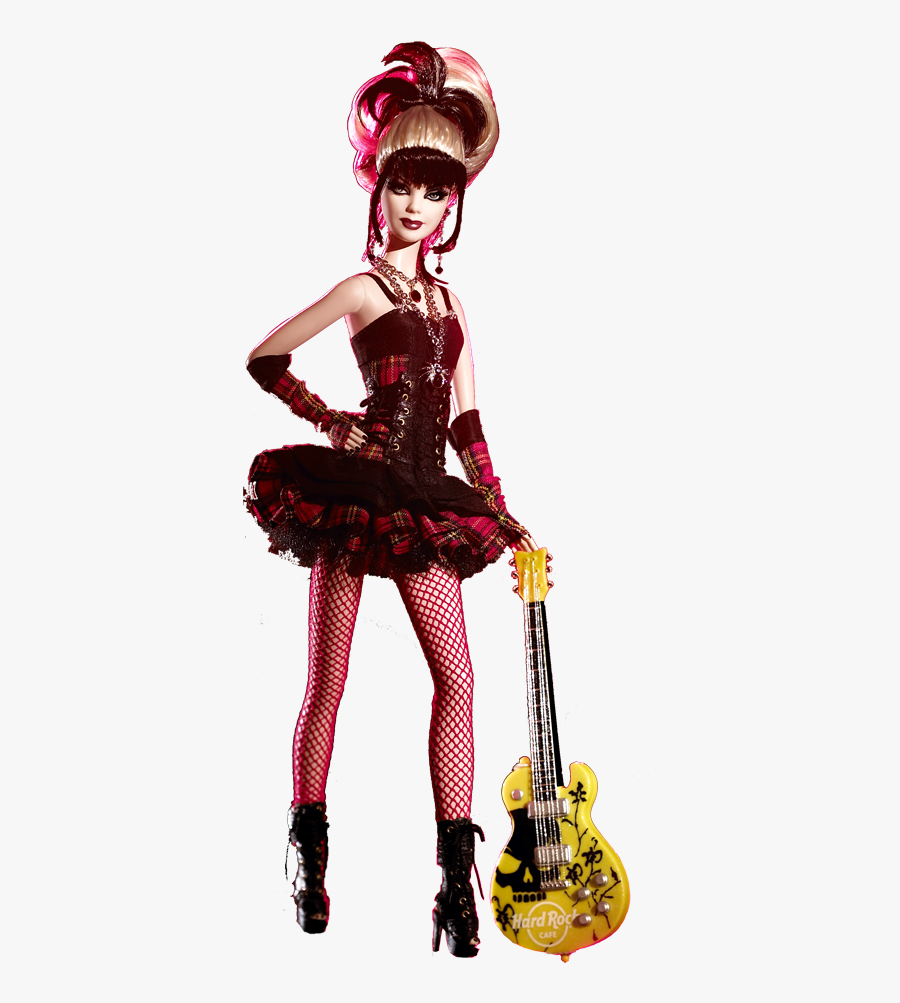 Collecting Fashion Dolls By Terri Gold - Barbie Hard Rock Cafe, Transparent Clipart