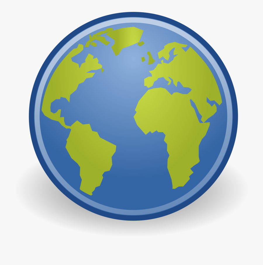 Earth , Transparent Cartoons - World Map White Outline Png, Transparent Clipart