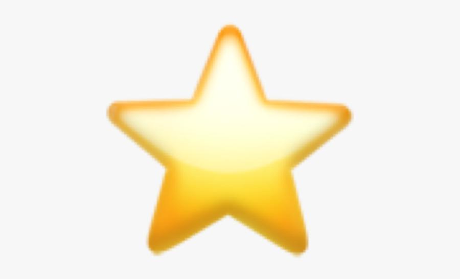 #star #iphone #emoji #emojis #iphoneemoji #emojisticker - Yellow Heart Emoji Png, Transparent Clipart
