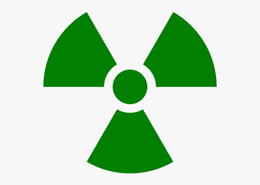 Radiation Symbol Green Clipart , Png Download - Green Radiation Symbol Transparent, Transparent Clipart