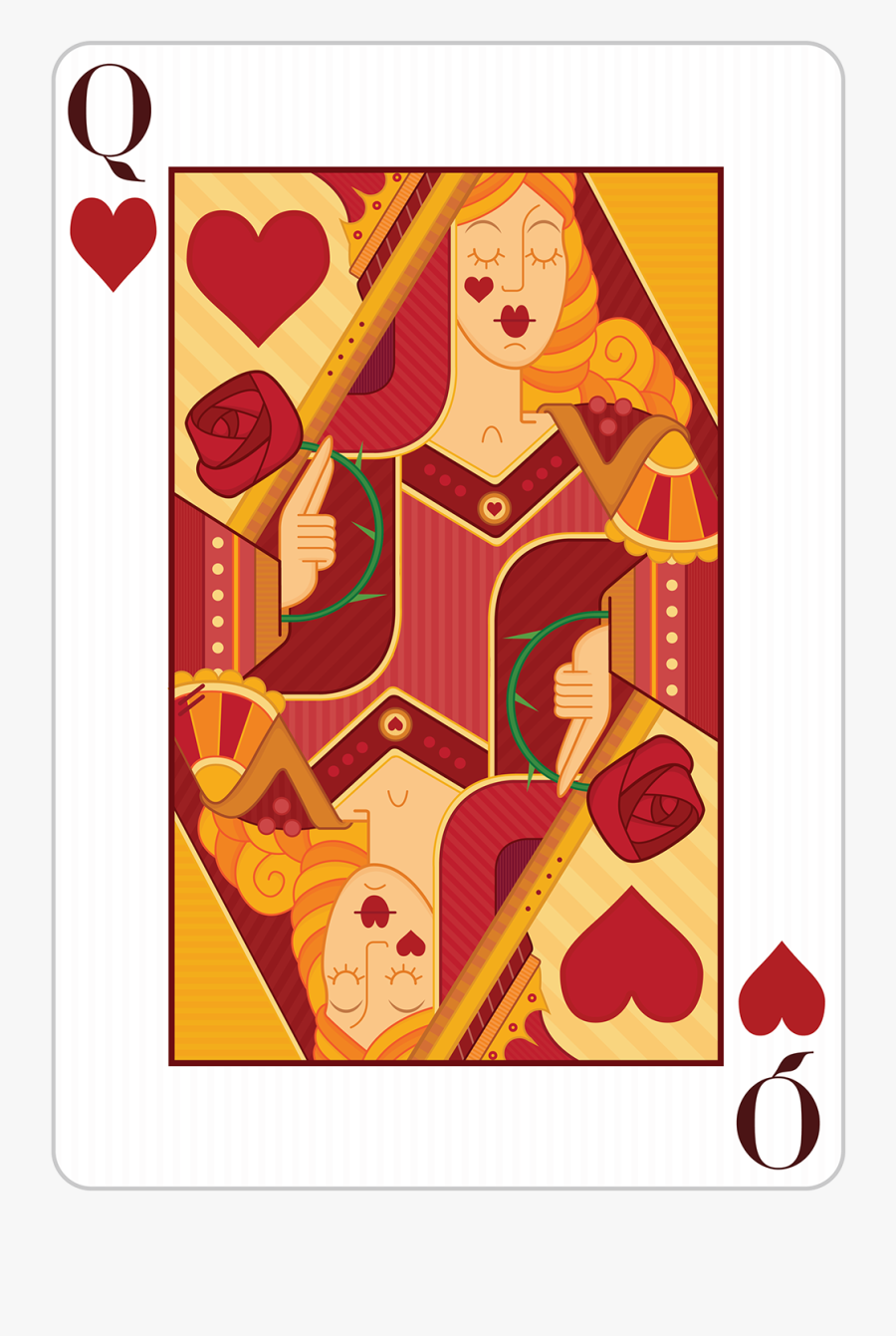Creative Art Playing Cards, Transparent Clipart