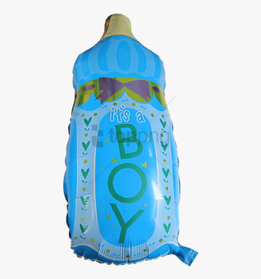 Free Png Download Baby Boy Balloon Anagrams Png Images - Baby Bottle, Transparent Clipart