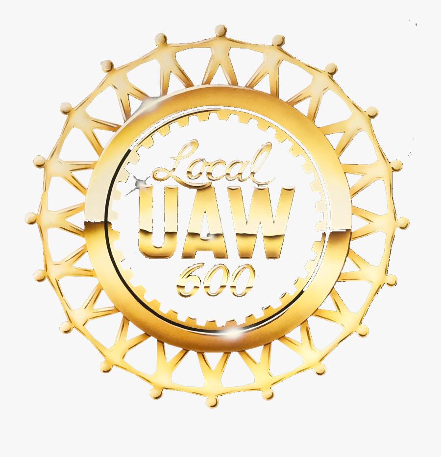Uaw Local 600 Logo, Transparent Clipart