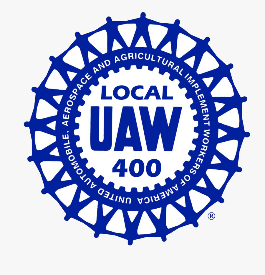 United Auto Workers Logo, Transparent Clipart