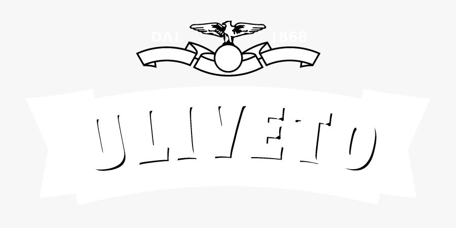 Uliveto Logo Black And White - Line Art, Transparent Clipart