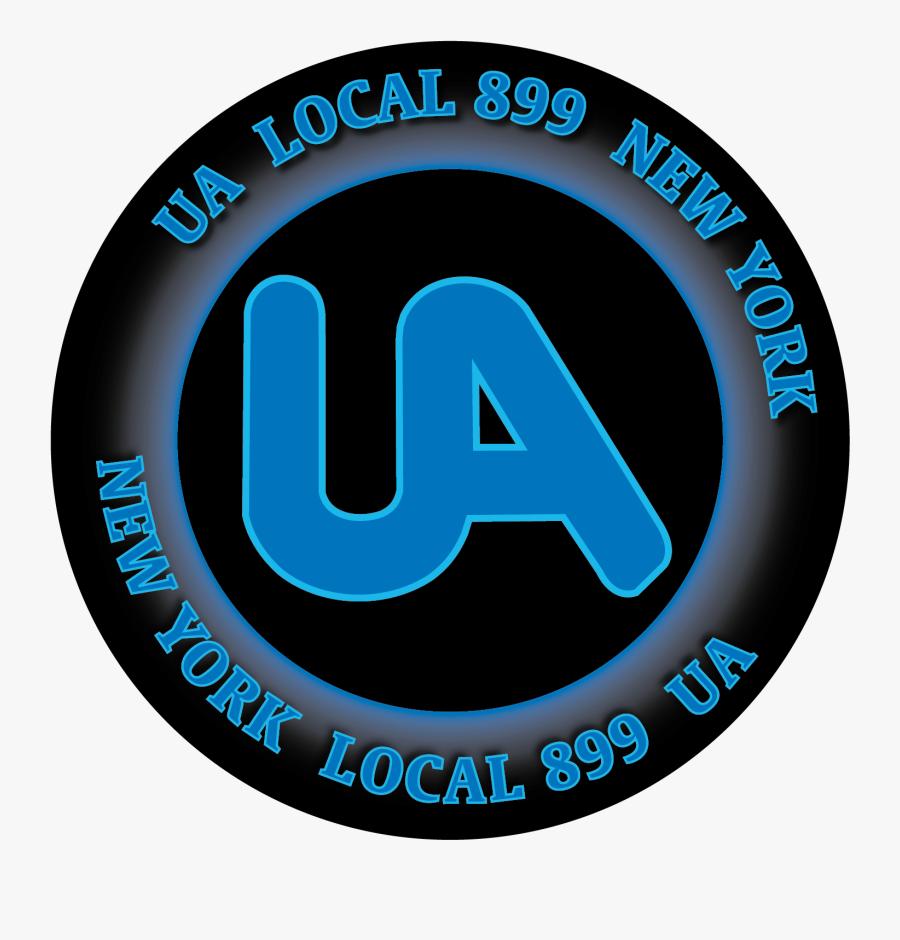 Clip Art Usa Union Round Decal - United Association, Transparent Clipart