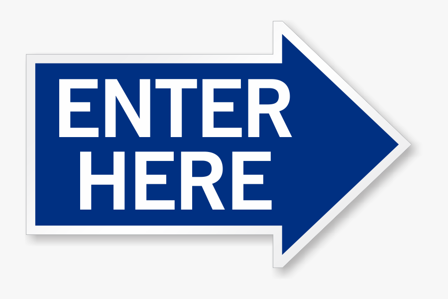 Zoom, Price, Buy - Enter Here Signs, Transparent Clipart