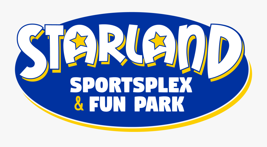 Starland Sportsplex And Fun Park Logo - Graphic Design, Transparent Clipart